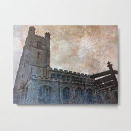 Olde Tower Metal Print