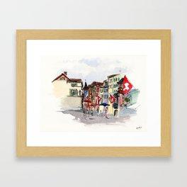 Zurich Framed Art Print