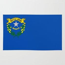 flag nevada,america,usa,silver state,sagebrush, battle born,nevadan,Las vegas,west,desert Rug
