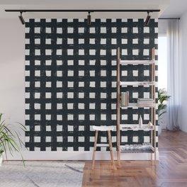 Criss-Cross Wall Mural