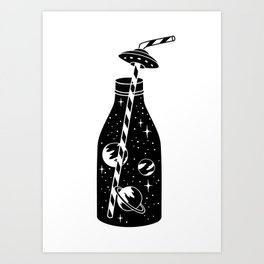 cosmic soda Art Print