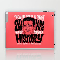 The Darkest Hours in our Nation Laptop & iPad Skin