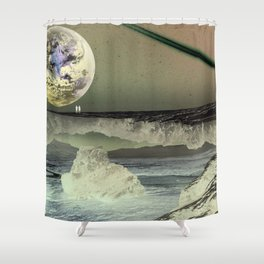 What Will Our Next Planet Look Like? Shower Curtain