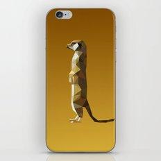 Geometric Meerkat iPhone & iPod Skin