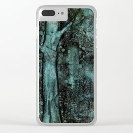 WINTER TREE Clear iPhone Case