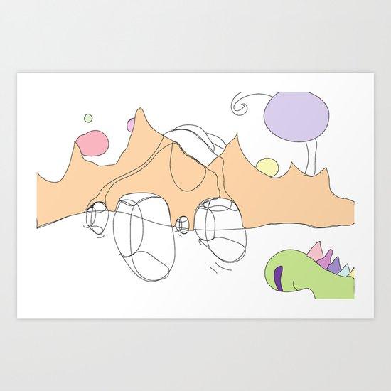 Funland 7 Art Print