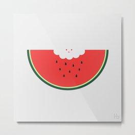 Water Melon Metal Print