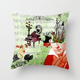 Classical music Throw Pillow