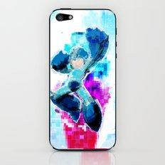 Mega Man WaterPixel (created initially for Storm Unity's Mega Man Marathon) iPhone & iPod Skin