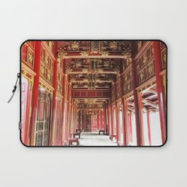 Red Asian Palace Laptop Sleeve