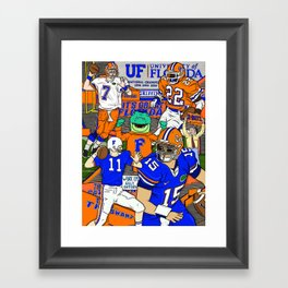 This Is The Swamp Framed Art Print