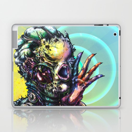 The Deceitful Siren Laptop & iPad Skin