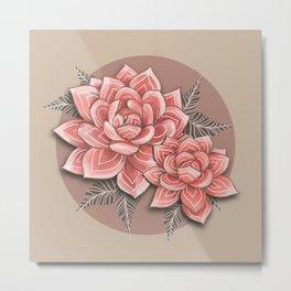 succulenta Metal Print