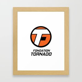 Bonus - Fondation Tornado Framed Art Print