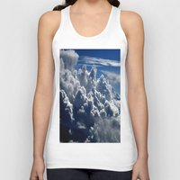 clouds Tank Tops featuring clouds by  Agostino Lo Coco
