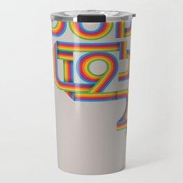 Steve Jobs. In Memoriam Travel Mug