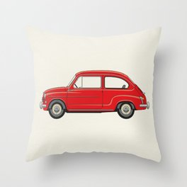 Automobile Zastava 750 - Zastava Throw Pillow