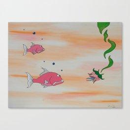 """""""Big Pink"""" Canvas Print"""