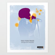 The Funk Train Art Print