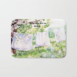 Laundry Day Bath Mat