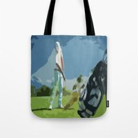 golf Tote Bags featuring GOLF by aztosaha