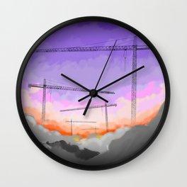 StrangeSky Wall Clock