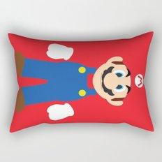 Mario - Minimalist - Nintendo Rectangular Pillow