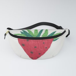 Strawberry Tone Art Fanny Pack