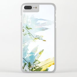 Wish (Dandelion) Clear iPhone Case