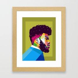 Khalid Framed Art Print