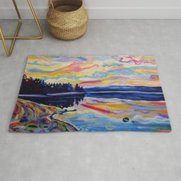 The Denman Sunrise Rug