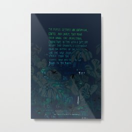 """""""Conquest of the Useless"""" by Werner Herzog Print (v. 8) Metal Print"""