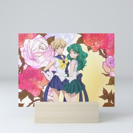 Sailor Uranus & Sailor Neptune Crystal IV Mini Art Print
