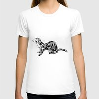 ferret T-shirts featuring Ferret Design by Tara Prince