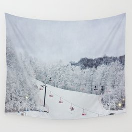 Early Morning Run Wall Tapestry