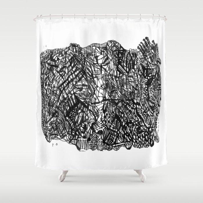 2014 01 01 Shower Curtain