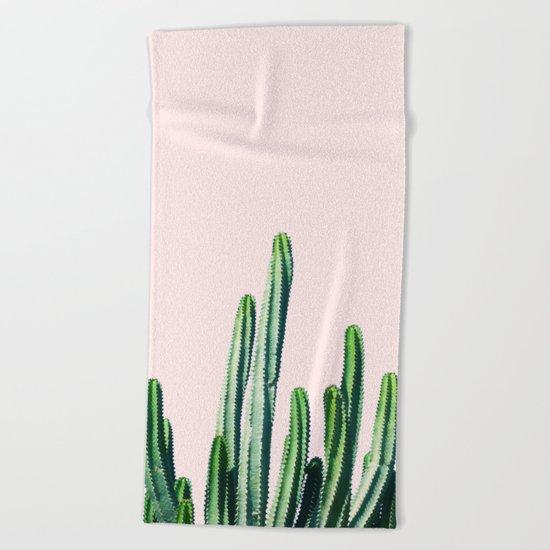 Cactus V6 #society6 #decor #buyart Beach Towel