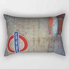 London - Notting Hill Gate Rectangular Pillow