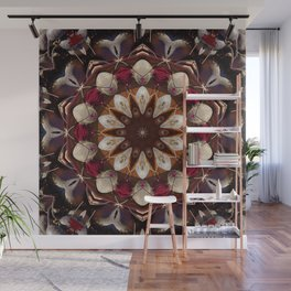 The beet mandala (the beauty of vegetables!) 708 Wall Mural