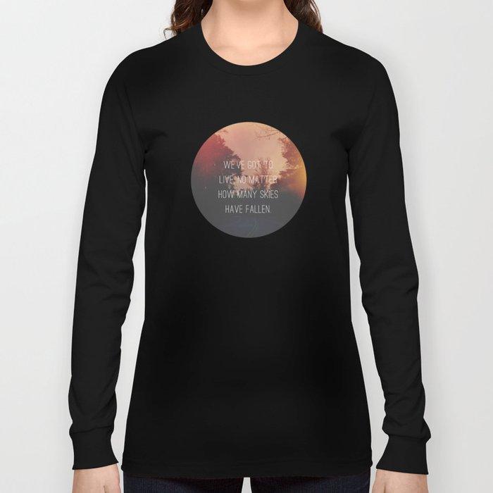 Fallen Skies Long Sleeve T-shirt