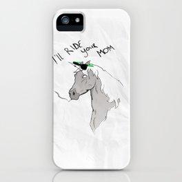 Douchiecorn iPhone Case