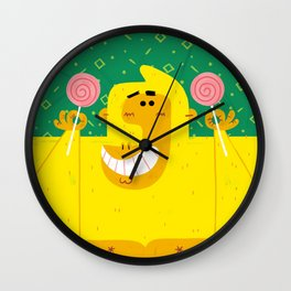 Gorilla Goodness II Wall Clock