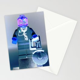 Doctor Toxic Custom LEGO Minifigure by Chillee Wilson Stationery Cards
