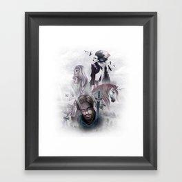 LEYEND Framed Art Print