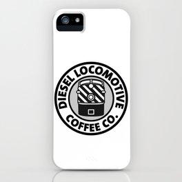Diesel Locomotive Coffee Co. iPhone Case