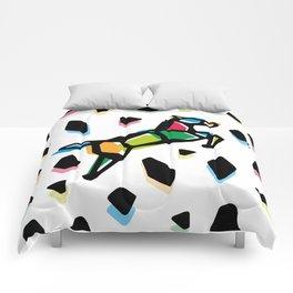 Rainbow Anigami Horse Comforters