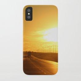 Westward Sunset iPhone Case