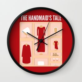 Handmaid Wall Clock