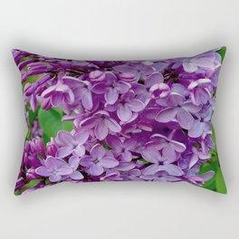 Lilac Blooms Rectangular Pillow