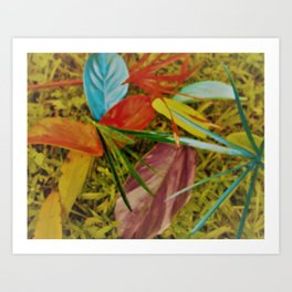 Leaves2 Art Print